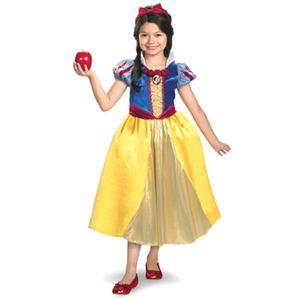 【コスプレ】 disguise Snow White / Snow White Shimmer Deluxe 4-6X 白雪姫 子供用 - 拡大画像