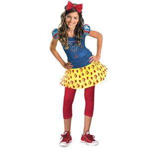【コスプレ】 disguise Snow White / Snow White Tween 10-12 白雪姫 (キッズ・子供用) - 拡大画像