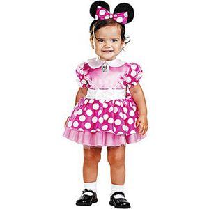 【コスプレ】 disguise Micky Mouse / Clubhouse Minnie Mouse Pink Infant クラブハウス ミニーマウス 幼児用ピンクドレス - 拡大画像