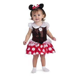 【コスプレ】 disguise Micky Mouse / Minnie Mouse Toddler ミニーマウス 幼児用コスチューム - 拡大画像
