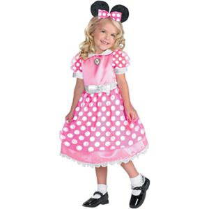【コスプレ】 disguise Micky Mouse / Clubhouse Minnie Mouse-Pink クラブハウス ミニーマウス ピンク 2T - 拡大画像