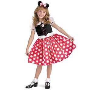 【コスプレ】 disguise Minnie Mouse Classic Child ミッキーマウス クラシック チャイルド 4-6X - 拡大画像