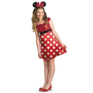 【コスプレ】 disguise Micky Mouse / Red Minnie Tween レッド ミニー ティーン 7-8