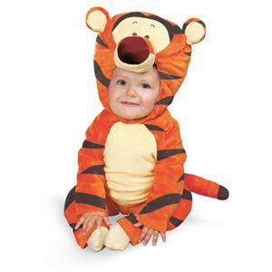 【コスプレ】 disguise Winnie The Pooh / Tigger Comfy Fur toddler ティガー ふわふわ 着ぐるみ 3T-4T - 拡大画像