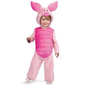 【コスプレ】 disguise Winnie The Pooh / Piglet Comfy Fur toddler ピグレット ふわふわ 着ぐるみ 3T-4T - 拡大画像