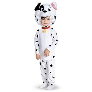 【コスプレ】 disguise 101 Dalmatians / 101 Dalmatian Classic toddler ダルメシアン 乳児用コスチューム 3T-4T