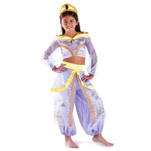 【コスプレ】 disguise Aladdin / Storybook Jasmine Prestige 4-6X アラジン (キッズ・子供用) - 拡大画像