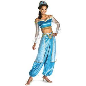 disguise Aladdin / Jasmine Sassy Adult Prestige 12-14 アラジン - 拡大画像