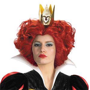 【コスプレ】 disguise Alice In Wonderland Movie / Red Queen Wig O/S アリスインワンダーランド 赤の女王