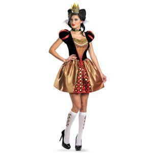 【コスプレ】 disguise Alice In Wonderland Movie / Sassy Red Queen 4-6 アリスインワンダーランド 赤の女王