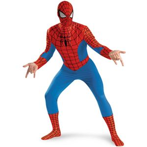 【コスプレ】 disguise Classic Spiderman / Spiderman Deluxe Adult 42-46 スパイダーマン