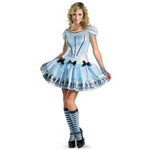 【コスプレ】 disguise Alice In Wonderland Movie / Sassy Blue Dress Alice 8-10 アリスインワンダーランド アリス - 拡大画像