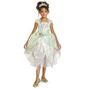 【コスプレ】 disguise Princess And Frog / Princess Tiana Shimmer Deluxe 4-6X プリンセスとまほうのキス