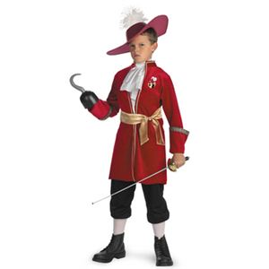 disguise Peter Pan / Captain Hook Classic 7-8 ピーターパン フック船長 子供用の写真1
