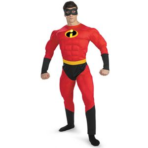 【コスプレ】 disguise The Incredibles / Mr. Incredible Deluxe Muscle Adult Mr.インクレディブル
