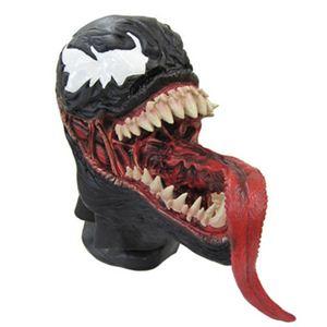 【コスプレ】 disguise Classic Spiderman / Venom Adult Vinyl Full Mask O/S スパイダーマン マスク - 拡大画像