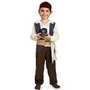 【コスプレ】 disguise Pirate Of The Caribbean / Jack Sparrow Toddler 3T-4T パイレーツ・オブ・カリビアン ジャックスパロウ キッズ・子供用 - 拡大画像