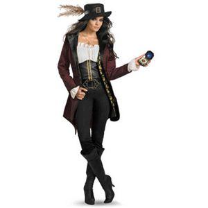 【コスプレ】 disguise Pirate Of The Caribbean / Angelica Prestige Adult 8-10 パイレーツ・オブ・カリビアン アンジェリカ - 拡大画像