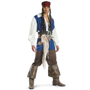disguise Pirate Of The Caribbean / Captain Jack Sparrow Classic Teen 38-40 パイレーツ・オブ・カリビアン ジャックスパロウ