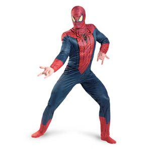 【コスプレ】 disguise 42497D Spider-Man Movie Classic Adult スパイダーマン クラシック - 拡大画像