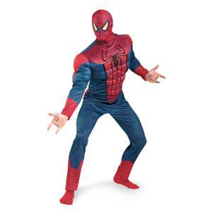 【コスプレ】 disguise 42505D Spider-Man Movie Classic Muscle Adult スパイダーマン マッスル - 拡大画像