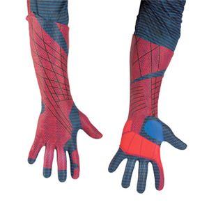 【コスプレ】 disguise 42514 Spider-Man Movie Adult Deluxe Gloves スパイダーマン デラックス グローブ - 拡大画像