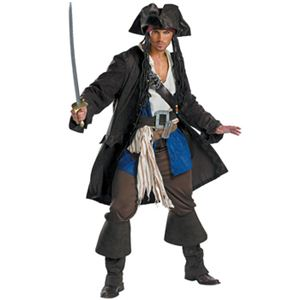 disguise 5626 Captain Jack Sparrow 42-46 - 拡大画像