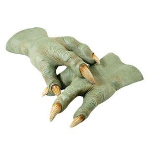 【コスプレ】 RUBIE'S(ルービーズ) 2406 Yoda Latex Hands(スターウォーズ) ヨーダ - 拡大画像