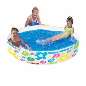 【家庭用プール】120cmロコリゾートカラフル