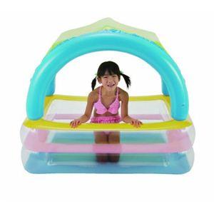 【家庭用プール】サンシェードプール 125×90×36cmの写真2