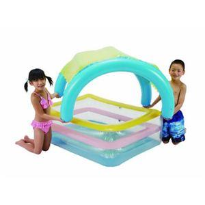 【家庭用プール】サンシェードプール 125×90×36cmの写真3