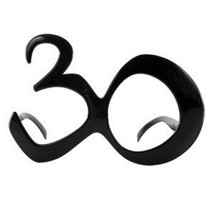 【パーティーグッズ】elopeおもしろメガネ H B'day Decades 30 - 拡大画像