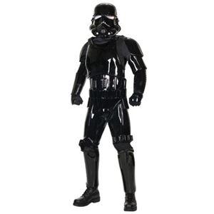 【コスプレ】 RUBIE'S(ルービーズ) 909881 Supreme Edition Black Shadow Trooper ブラックシャドウトルーパー (スターウォーズ) Stdサイズ - 拡大画像