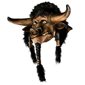 【コスプレ】 RUBIE'S(ルービーズ) 68206 Tauren Mask Ovhd Latex Mask (World of Warcraft) (マスク) - 拡大画像