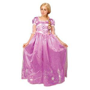 【コスプレ】 RUBIE'S(ルービーズ) 95080 Dress Up Adult Rapunzel ラプンツェル Stdサイズ - 拡大画像