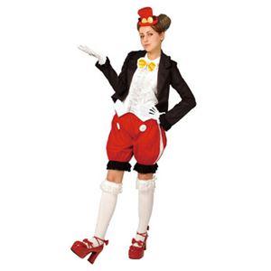 【コスプレ】 RUBIE'S(ルービーズ) 95079 Gothic Costume Adult Mickey Pants Ver. ゴシックミッキー パンツバージョン Stdサイズ - 拡大画像