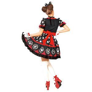 RUBIE'S(ルービーズ)Gothic Costume Adult Minnie Black ゴシックミニー ブラック Stdサイズ