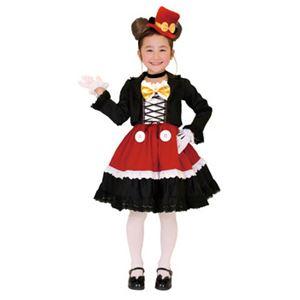 【コスプレ】 RUBIE'S(ルービーズ) 95078L Gothic Costume Child Mickey L ゴシックミッキー - 拡大画像