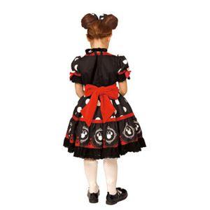 【コスプレ】 RUBIE'S(ルービーズ) 95076M Gothic Costume Child Minnie Black M ゴシックミニー ブラックの写真2