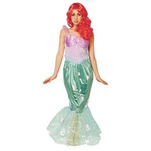 【コスプレ】 RUBIE'S(ルービーズ) 95084 Dress Up Adult Ariel アリエル Stdサイズ - 拡大画像