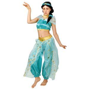 【コスプレ】 RUBIE'S(ルービーズ) 95085 Dress Up Adult Jasmine ジャスミン Stdサイズ - 拡大画像