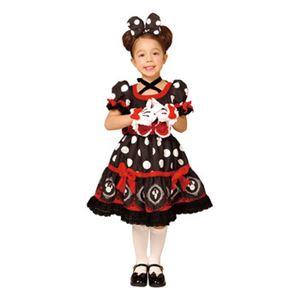【コスプレ】 RUBIE'S(ルービーズ) 95076L Gothic Costume Child Minnie Black L ゴシックミニー ブラック - 拡大画像