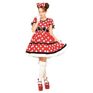 【コスプレ】 RUBIE'S(ルービーズ) 95074 Gothic Costume Adult Minnie Red ゴシックミニー レッド Stdサイズ - 拡大画像