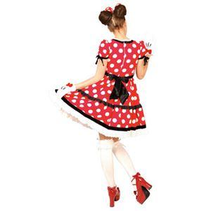 【コスプレ】 RUBIE'S(ルービーズ) 95074 Gothic Costume Adult Minnie Red ゴシックミニー レッド Stdサイズの写真2