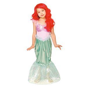 【コスプレ】 RUBIE'S(ルービーズ) 95088T Dress Up Child Ariel Tod アリエル - 拡大画像