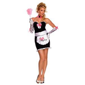 【コスプレ】 RUBIE'S(ルービーズ) 889327 Playboy Mansion Maid マンションメイド (プレイボーイ) Stdサイズ - 拡大画像