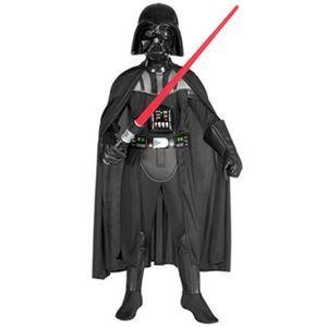 【コスプレ】 RUBIE'S(ルービーズ) 882014M Child Deluxe Darth Vader Costume M ダースベイダー (スターウォーズ) - 拡大画像
