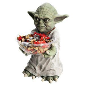 【コスプレ】 RUBIE'S(ルービーズ) 68371 Yoda Candy Bowl Holder ヨーダ キャンディボウルホルダー (スターウォーズ)