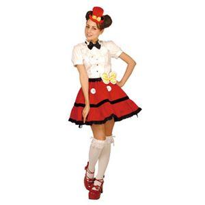 【コスプレ】 RUBIE'S(ルービーズ) 95145 Gothic Costume Tutu Set Mickey ゴシックチュチュセット ミッキー - 拡大画像