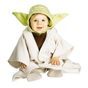 RUBIE'S(ルービーズ) 11613T Baby Yoda Costume Tod ヨーダ (スターウォーズ) - 拡大画像